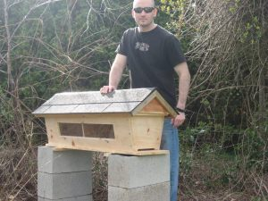 Sustainable Craig Top Bar Hive Build