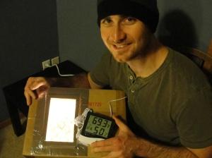 Sustainable Craig turns on Egg Incubator