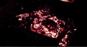 firing pots in coals 2