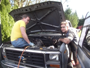 Hot-wiring the Truck