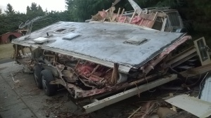 collapsed roof rv